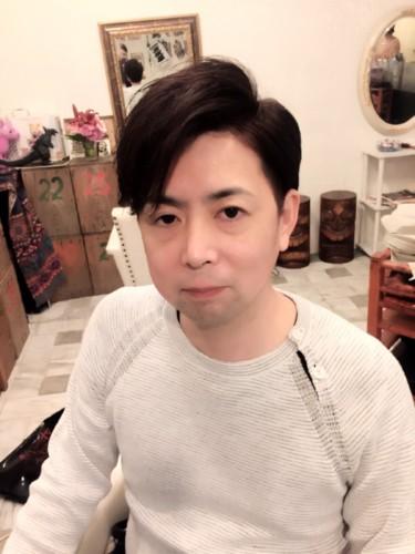安藤さんヘアー